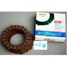 Cork clutch plates, discs for JAWA 350 634 6v