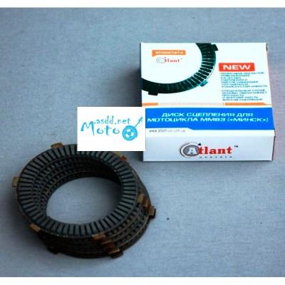 Cork clutch plates, discs for Minsk, Voshod, Voskhod