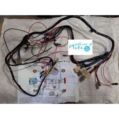 Central wires, wiring for Minsk 12v