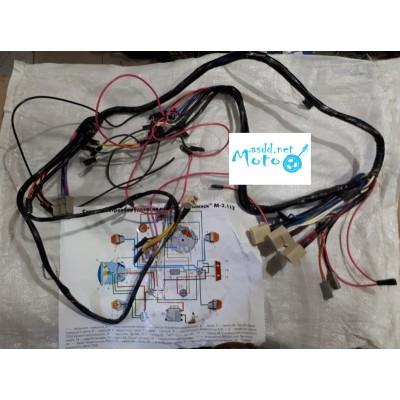 Central wires, wiring for Minsk 12v