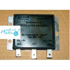 Charging relay regulator (electronic) 6V for JAWA 350 634