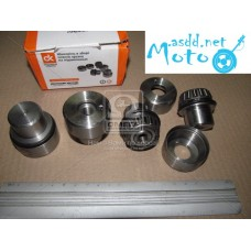 469.452 UAZ pin assembly new sample on bearings (4 pcs.) (DK) 3151-2304019