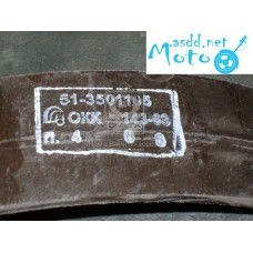 Brake pad GAZ 51,52,53 front length (production UralATI) 51-3501105