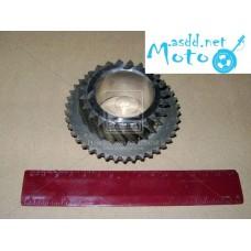5-gear transmission shaft secondary Gazelle (replacement 31029-1701152-10) (production GAZ) 31105-1701152