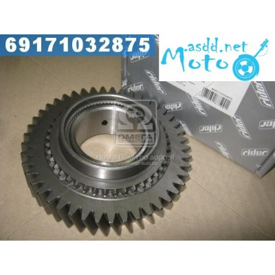 1 Gear transmission secondary shaft old sample GAZ 31029.3302 to 2003 g. (RIDER) 3302-1701106-10