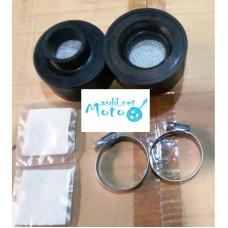 Air Filters zero resistance + clamps Dnepr MT, URAL pair