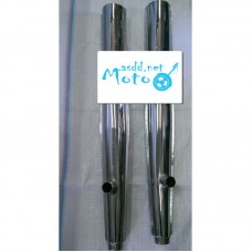 Exhaust pipes Dnepr MT pair