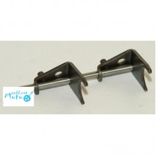 Shift forks JAWA 634 638 6V 12V pair & clutch shaft