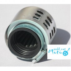 Air filter zero resistance closed 35mm chrome