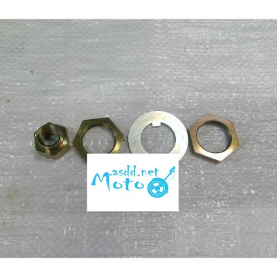 Axles nut Muravey 8pcs for 2 axles