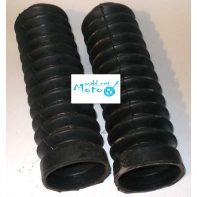 Fork rubber cover, dust shield Voshod, Voskhod, Minsk pair