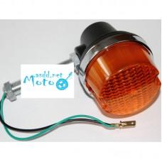 Turn signals, lights JAWA 350 634 638 6V 12V black 4pcs
