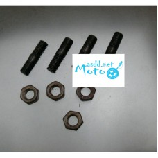 Cover studs rear shaft drive Dnepr MT with nut 4pcs