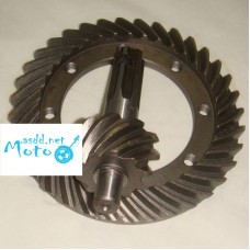 Differential crown wheel set (drive gear and pinion) Dnepr MT, URAL, K-750 Speed 10 Teeth