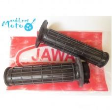 Steering handle rubbers JAWA 350 634 638 12V 6V