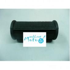 Footrests passenger rubbers Dnepr MT 9,5 cm (large opening) 2pcs