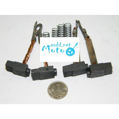 Alternator brushes Muravey, Tula 4pcs set