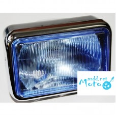 Headlight blue glass with one light IZH Planeta, Jupiter, Dnepr MT, URAL, K-750, JAWA 350 360 634 638, Minsk , Voshod, Voskhod, Muravey
