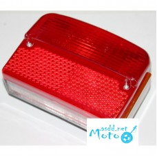 Tail lights complete set JAWA 350 12V 6V 634 638