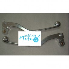 Steering levers JAWA 634 638 chrome